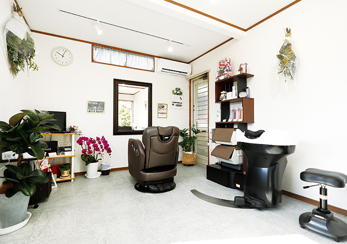 hair salon KOM